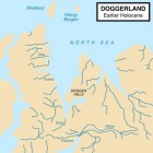 Doggerland, het land tussen Engeland en Nederland