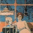 Gaslampen voor in huis (1800-1940)