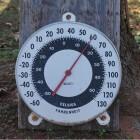 Schalen voor aanduiding van de temperatuur