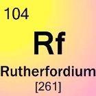 Rutherfordium: Het element
