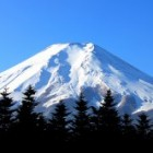 Fuji vulkaan Japan
