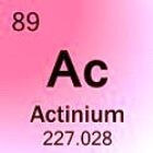 Actinium: Het element