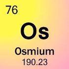 Osmium: Het element