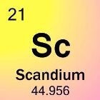 Scandium: Het element