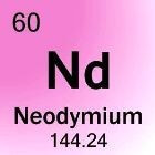 Neodymium: het element