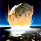 Een aardscheerder, een gevaarlijke meteoriet