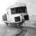 Bizarre uitvinding, de Gyro trein van L.P. Brennan uit 1903