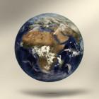 Maan verdwijnt van de aarde
