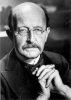 Begrip kwantum E=hf in 1900,<BR> Max Planck 1858-1947