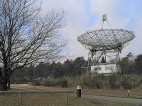 Dwingeloo Radiotelescoop (DRT) / Bron: Harm Munk, Wikimedia Commons (CC BY-SA-3.0)