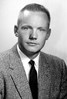 Armstrong als student. / Bron: NASA / Wikimedia Commons