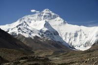Mount Everest / Bron: Luca Galuzzi (Lucag), Wikimedia Commons (CC BY-SA-2.5)