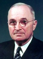President Harry Truman / Bron: National Archives and Records Administration, Wikimedia Commons (Publiek domein)
