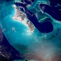Tongue of the Ocean / Bron: NASA, Wikimedia Commons (Publiek domein)